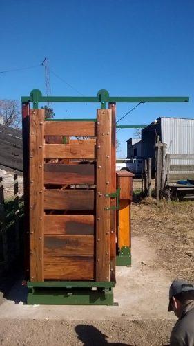 armado montaje instalacion de bascula ganaderia pesaje individual hacienda