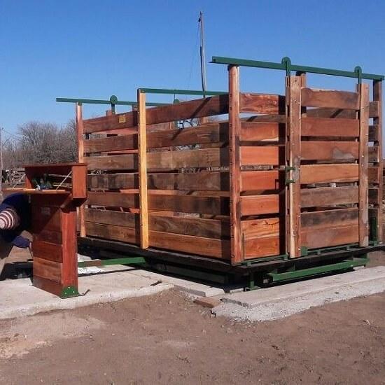 balanza mecanica ganadera de 3000 kg rincon del norte
