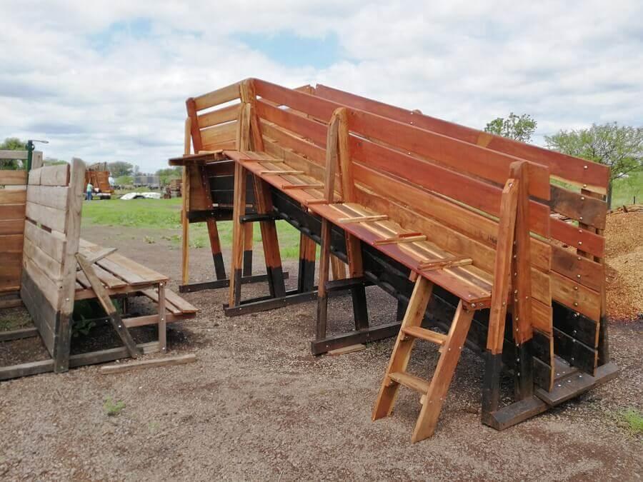 embarcadero de ganado con pre manga toril manejo bienestar