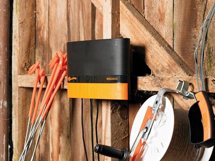 gallagher - electrificador boyero electrico inteligente mb2800i